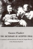 Dictionary of Accepted Ideas (Paperback)