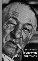 SELECTED WRIT CENDRARS PA (Paperback)