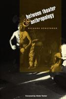 Between Theater and Anthropology (Paperback)