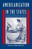 Americanization in the States: Immigrant Social Welfare Policy, Citizenship, and National Identity in the United States, 1908-1929 - Working in the Americas (Hardback)