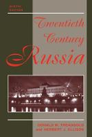 Twentieth Century Russia: Ninth Edition (Paperback)