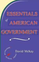 Essentials Of American Politics (Paperback)