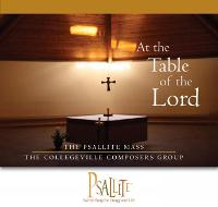 The Psallite Mass: At the Table of the Lord (CD-Audio)