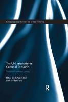 The UN International Criminal Tribunals: Transition without Justice? - Routledge Research on the United Nations UN (Paperback)
