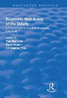 Economic Well-Being of the Elderly: A Comparison Across Five European Countries (Paperback)