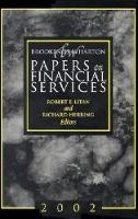 Brookings-Wharton Papers on Financial Services: 2002 - Brookings-Wharton Papers on Financial Services (Paperback)