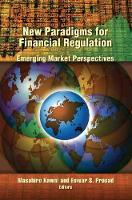 New Paradigms for Financial Regulation: Emerging Markets Perspectives (Paperback)