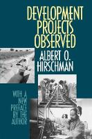 Development Projects Observed (Paperback)