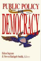 Public Policy for Democracy (Paperback)