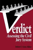 Verdict: Assessing the Civil Jury System (Paperback)