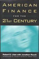 American Finance for the 21st Century (Hardback)