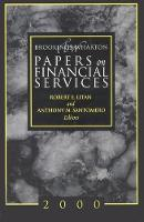 Brookings-Wharton Papers on Financial Services (Paperback)