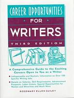 Career Opportunities for Writers (Hardback)