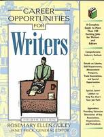 Career Opportunities for Writers 2000-2001 (Paperback)