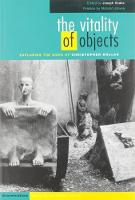 The Vitality of Objects: Psychoanalysis and Human Experience in the Work of Christopher Bollas (Hardback)