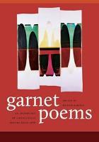 Garnet Poems (Hardback)