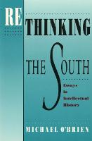 Rethinking the South: Essays in Intellectual History - Brown Thrasher Books (Paperback)