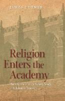 Religion Enters The Academy (Paperback)