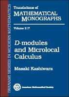 D-modules and Microlocal Calculus - Translations of Mathematical Monographs (Iwanami Series in Modern Mathematics) (Paperback)