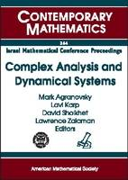 Complex Analysis and Dynamical Systems - Contemporary Mathematics (Paperback)