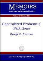 Generalized Frobenius Partitions - Memoirs of the American Mathematical Society (Paperback)