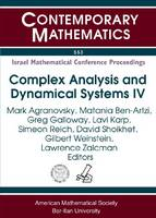 Complex Analysis and Dynamical Systems IV: Part 1. Function Theory and Optimization (Paperback)