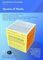Quanta of Maths - Clay Mathematics Proceedings (Paperback)