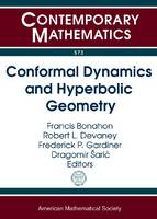 Conformal Dynamics and Hyperbolic Geometry - Contemporary Mathematics (Paperback)