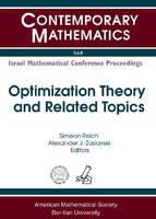 Optimization Theory and Related Topics - Contemporary Mathematics (Paperback)