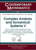 Complex Analysis and Dynamical Systems V - Contemporary Mathematics (Paperback)