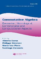 Commutative Algebra: Geometric, Homological, Combinatorial and Computational Aspects - Lecture Notes in Pure and Applied Mathematics (Paperback)