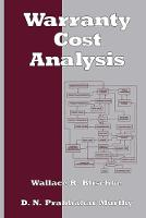 Warranty Cost Analysis (Hardback)