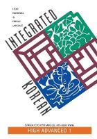 Integrated Korean: High Advanced 1 (Paperback)