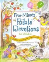 Five-Minute Bible Devotions for Children: Old Testament (Spiral bound)