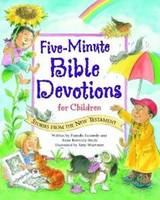 Five-Minute Bible Devotions for Children: New Testament (Spiral bound)