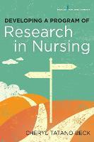 Developing a Program of Research in Nursing (Paperback)