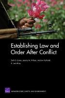 Establishing Law and Order After Conflict (Paperback)