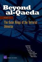 Beyond Al-Qaeda: Outer Rings of the Terrorist Universe Pt. 2 (Paperback)