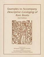 Examples to Accompany Descriptive Cataloging of Ra (Paperback)