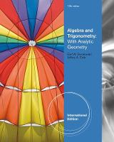 Algebra and Trigonometry with Analytic Geometry, International Edition (Paperback)