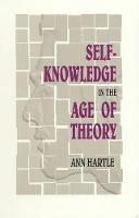 Self-Knowledge in the Age of Theory (Paperback)