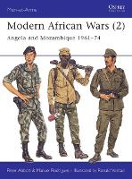 Modern African Wars: Angola and Mozambique, 1961-74 - Men-at-Arms (Paperback)