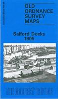 Salford Docks 1905: Lancashire Sheet 104.09 - Old O.S. Maps of Lancashire (Sheet map, folded)