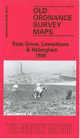 Rose Grove, Lowerhouse and Habergham 1909: Lancashire Sheet 64.01 - Old O.S. Maps of Lancashire (Sheet map, folded)