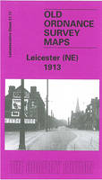 Leicester (North East) 1913: Leicestershire Sheet 31.11 - Old O.S. Maps of Leicestershire (Sheet map, folded)