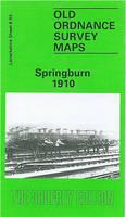 Springburn 1910: Lanarkshire Sheet 6.03 - Old O.S. Maps of Glasgow (Sheet map, folded)