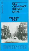 Padiham 1909: Lancashire Sheet 63.04 - Old O.S. Maps of Lancashire (Sheet map, folded)
