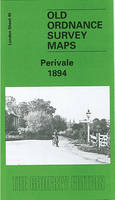 Perivale 1894: London Sheet 045.2 - Old Ordnance Survey Maps of London (Sheet map, folded)