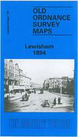 Lewisham 1894: London Sheet 119.2 - Old O.S. Maps of London (Sheet map, folded)