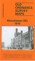Manchester (SE) 1915: Lancashire Sheet 104.11 - Old O.S. Maps of Lancashire (Sheet map, folded)
